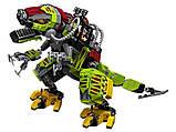 Конструктор 11337 Динозавры Бой тираннозавра и робота динозавра, 740 дет, фото 3