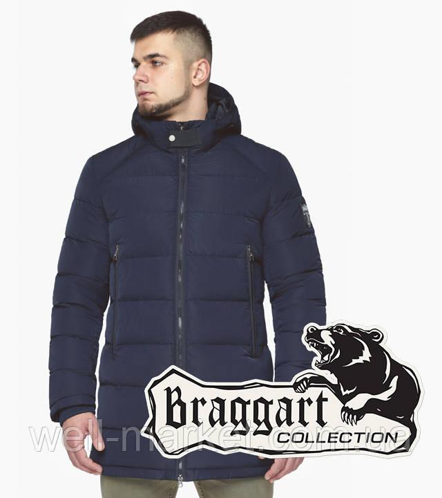 Braggart Aggressive 36470 | Куртка мужская зимняя темно-синяя
