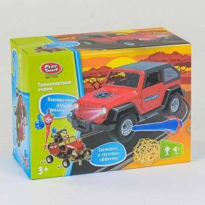 Машина-конструктор 1370 48 Play Smart, со светом, звук SKL11-220273, фото 2