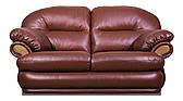 Двухместный диван Orlando, нераскладной диван, мягкий диван, мебель из кожи, диван