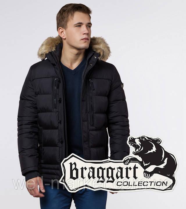 Braggart Dress Code 45610   Мужская утепленная куртка черная