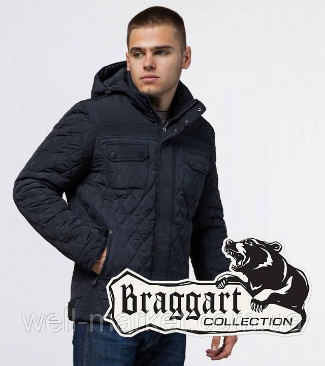 Braggart Dress Code 1698   Мужская зимняя куртка темно-синяя