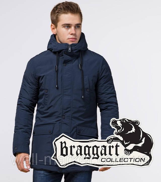 Braggart Dress Code 36640 | Мужская зимняя парка синяя
