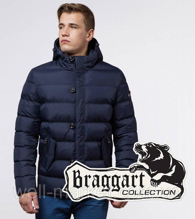Braggart Dress Code 30380   Куртка зимняя мужская темно-синяя
