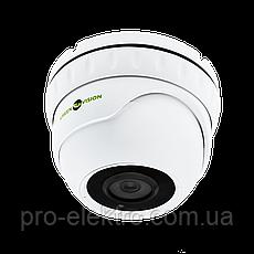 Антивандальная IP камера для внутренней и наружной установки Green Vision GV-080-IP-E-DOS50-30, фото 2