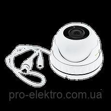 Антивандальная IP камера для внутренней и наружной установки Green Vision GV-080-IP-E-DOS50-30, фото 3