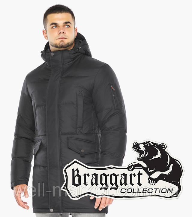Braggart Dress Code 47620 | Мужская зимняя куртка цвета графит