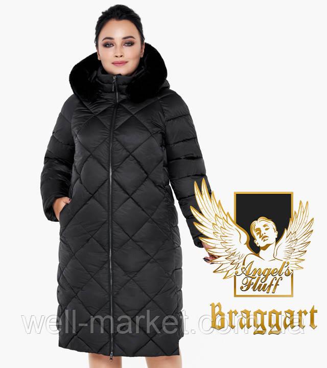 Воздуховик Braggart Angel's Fluff 31046   Куртка женская теплая черная