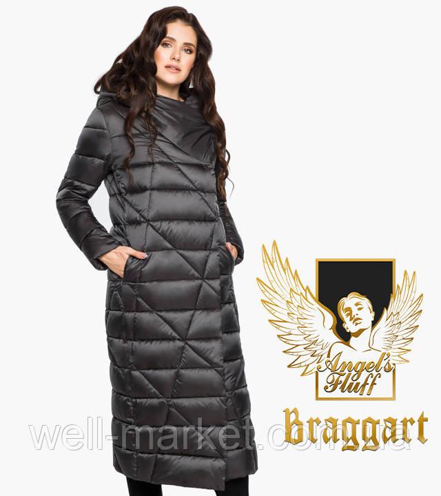 Воздуховик Braggart Angel's Fluff 31058 | Куртка зимняя женская графитовая