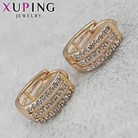 Женские серьги Xuping медицинское золото