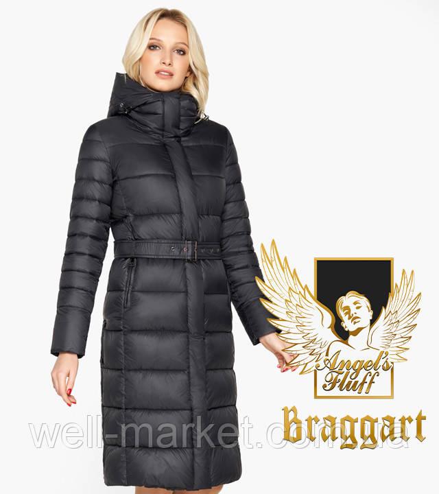 Воздуховик Braggart Angel's Fluff 31052 | Женская зимняя куртка черная