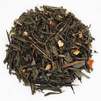 Чай Зеленый с имбирем крупно листовой Tea Star 50 гр Германия, фото 1