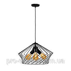 Светильник подвесной в стиле лофт MSK Electric NL 3329-3 на три лампы