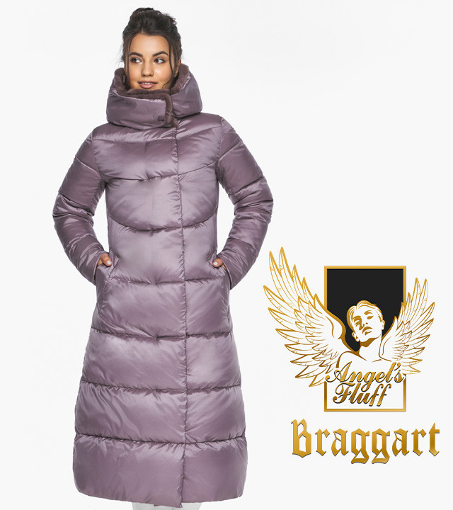 Воздуховик Braggart Angel's Fluff 45085| Зимняя женская куртка пудра