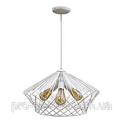 Светильник подвесной в стиле лофт на три лампы NL 3429-3 W  MSK Electric