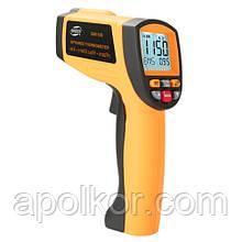 Бесконтактный инфракрасный термометр (пирометр)  -30-1150°C, 20:1, EMS=0,1-1  BENETECH GM1150