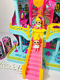 Домик ЛОЛ кукольный замок 3 этажа LOL К 5626, фото 5