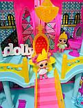 Домик ЛОЛ кукольный замок 3 этажа LOL К 5626, фото 4
