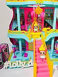 Домик ЛОЛ кукольный замок 3 этажа LOL К 5626, фото 2
