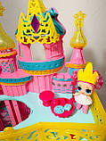Домик ЛОЛ кукольный замок 3 этажа LOL К 5626, фото 6