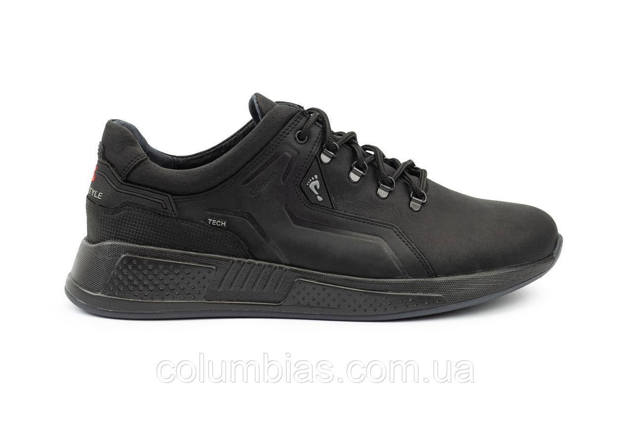 Кожаные осенние мужские кроссовки ессо