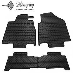 Резиновые коврики в автомобиль Acura MDX (YD2) 2007- (4 шт.) Stingray