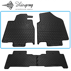 Резиновые коврики в автомобиль Acura MDX (YD2) 2007- (2 шт.) Stingray