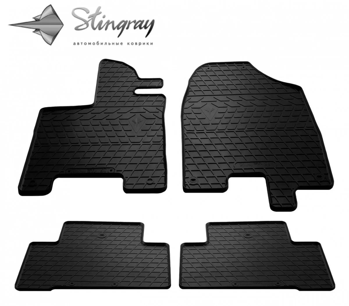 Резиновые коврики в автомобиль Acura MDX (YD3) 2013- (4 шт.) Stingray