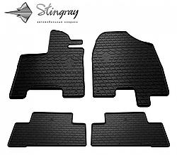 Гумові килимки в автомобіль Acura MDX (YD3) 2013- (4 шт.) Stingray