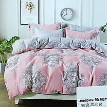 Комплект рожевого постільної білизни, двоспальний постільний комплект Koloco
