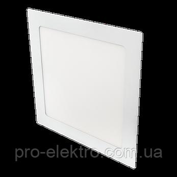 Светодиодный встраиваемый светильник Ilumia 18Вт, 220мм, 4000К (нейтральный белый), 1400Лм (033), фото 2