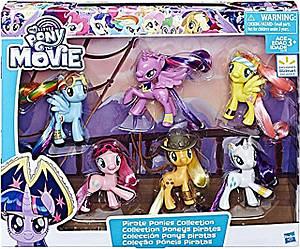 Набор из 6 фигурок пони Май Литл Пони My Little Pony the Movie Pirate Ponies