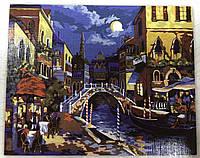Картина за номерами на полотні 40*50 Венеція укр, DankoToys (10)