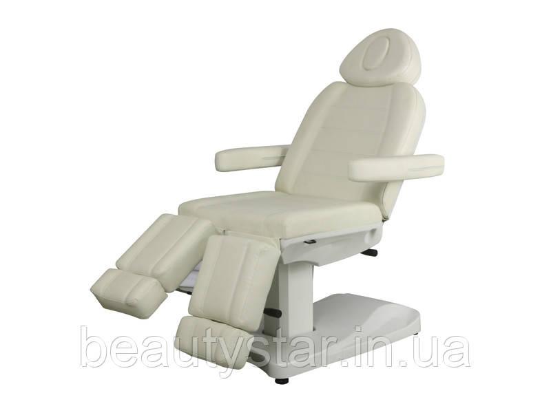 Педикюрное кресло кушетка для педикюра электрическая 2 электропривода модель 3803 АS (2 мотора)