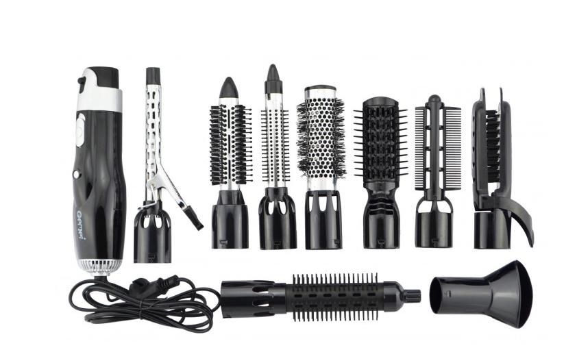 Повітряний фен-щітка стайлер для волосся Gemei GM-4833
