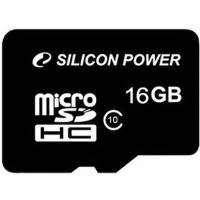 Карта памяти Silicon power Micro SDHC 16Gb class 10