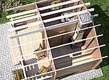 Баня деревянная из профилированного бруса 4х4, фото 3