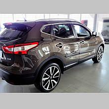 Молдинги на двері для Nissan Qashqai J11 2013-2021