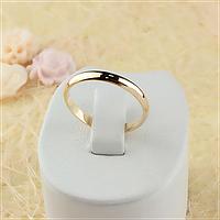 Обручальное кольцо 3 mm Ювелирная бижутерия 18k Размер 21.5