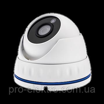 Гибридная Антивандальная камера для внутренней и наружной установки GreenVision GV-065-GHD-G-DOS20-20 1080p, фото 2