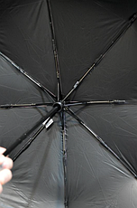 Брендовий парасольку автомат Moschino, фото 2
