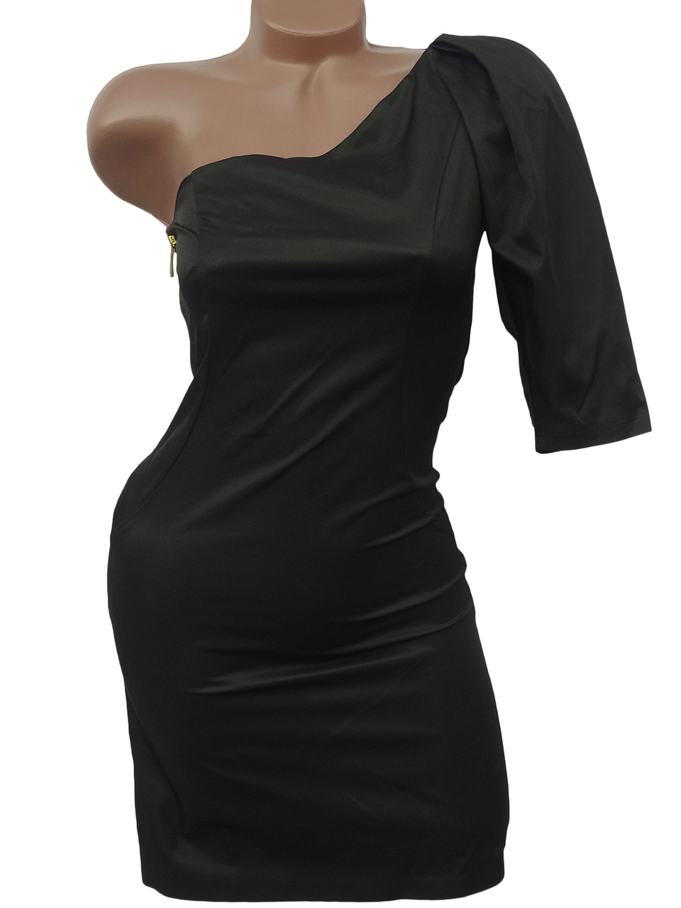 Красивое платье на одно плечо (в расцветках 40,42)