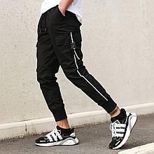 Штани карго чоловічі чорні бренд ТУР модель Фуджин