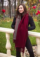 Теплый, объемный шарф зимнего сезона