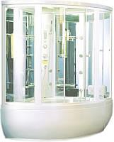 Гидромассажный бокс Appollo GUCI-856 White, 1460х1460х2200 мм