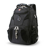 """Рюкзак с отделением для ноутбука """"17"""" Wenger Swiss Gear 27 Black"""