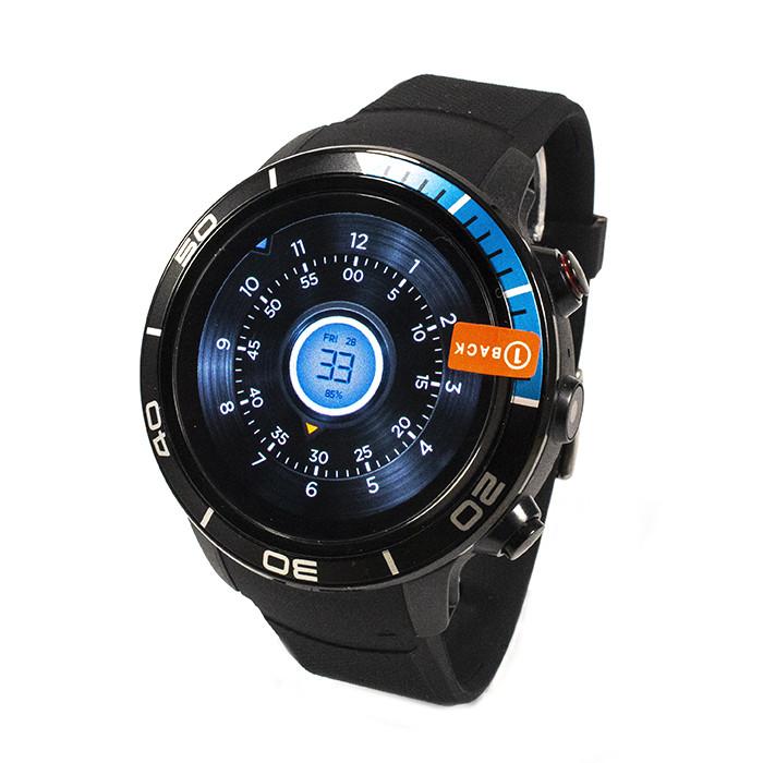 Смарт-часы Microwear H8 Black-Blue