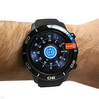 Смарт-часы Microwear H8 Black-Blue, фото 2