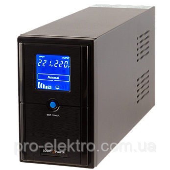 ИБП линейно-интерактивный LogicPower LPM-UL1100VA(770Вт), фото 2