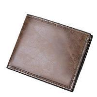 Мужское портмоне Baellerry коричневого цвета (кошелек, бумажник)